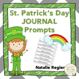 St Patricks Day Writing Prompts | St Patricks Writing Activities and Printables