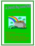 St. Patrick's Day Journals and Activity Pack