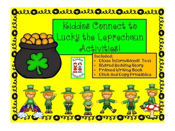 St. Patrick's Day - Kiddos Connect to Lucky the Leprechaun Activities