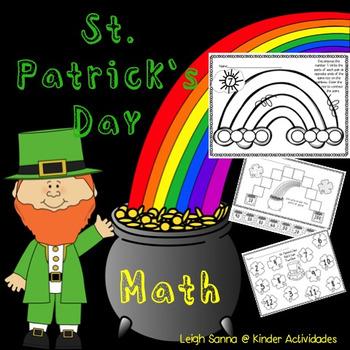 St. Patrick's Day Math Activities No Prep