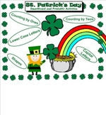 St. Patrick's Day Kindergarten Smartboard and Printable Activities.
