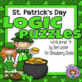 St. Patrick's Day LOGIC PUZZLES: 3 Critical Thinking Tasks