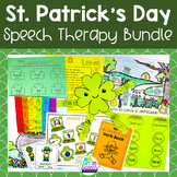 St. Patrick's Day Speech and Language Therapy BUNDLE