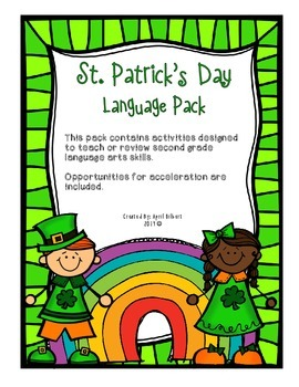 St. Patrick's Day Language Activity Pack
