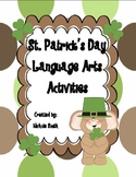 St. Patrick's Day Language Arts Activites