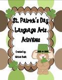 St. Patrick's Day Language Arts Activites