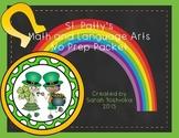 St. Patrick's Day Language Arts and Math NO PREP Packet
