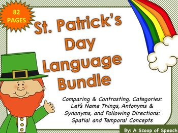 St. Patrick's Day Language Bundle