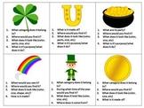 St. Patrick's Day Language Bundle- Synonyms & Antonyms, Ca