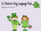 St. Patrick's Day Language Pack- Speech Therapy