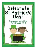 St. Patrick's Day Language Worksheets