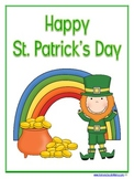 St. Patrick's Day Learning Pack - K-3