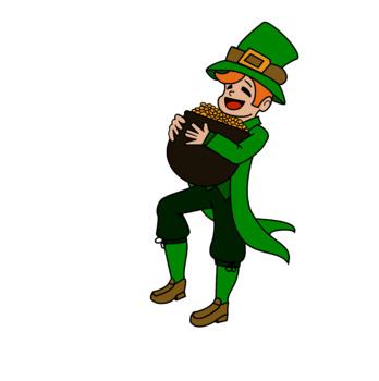St Patricks Day Leprechaun