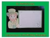 St. Patrick's Day Leprechaun Craft/ Writing template