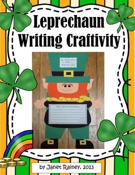 St. Patrick's Day Leprechaun Craftivity