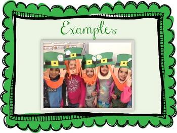 St. Patrick's Day/ Leprechaun Craftivity!  SOOO cute!