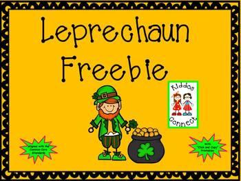 St. Patrick's Day - Leprechaun Freebie