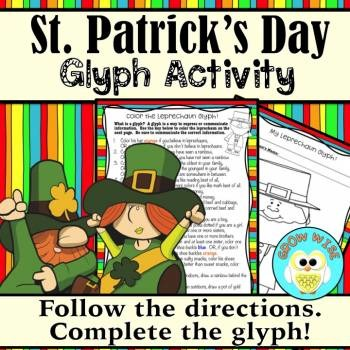 St. Patrick's Day Leprechaun Glyph **Newly Updated