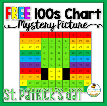 St. Patrick's Day Math Free by Mrs Thompson's Treasures