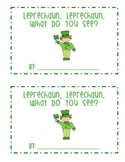 "St. Patrick's Day ""Leprechaun, Leprechaun"" Emergent Reader"