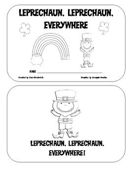 St. Patricks Day: Leprechaun, Leprechaun Everywhere Emergent Reader