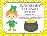 St. Patrick's Day Leprechaun Mini Unit