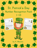 St. Patrick's Day Leprechaun Number Recognition Composing 1-10