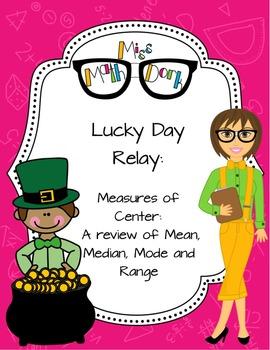St Patrick's Day Leprechaun Relay - A fun way to review Me