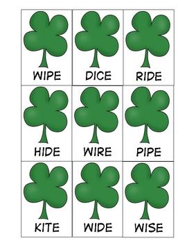 St. Patricks Day: Leprechaun Shenanigans CVCe Words