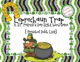 St. Patrick's Day Leprechaun Trap {Preschool Printable Sight Word Game}