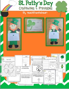 St. Patrick's Day Writing Crafts & Mini Book