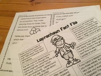 Leprechaun Fact Files And How to Catch a Leprechaun