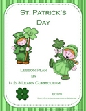 St. Patrick's Day Lesson Plan with ECIPs PLUS many extras