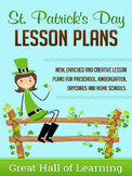St. Patrick's Day Lesson Plans
