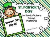 St. Patrick's Day Letter-to-Picture Sound Matching