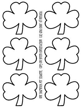 St. Patrick's Day Lift-the-Flap Emergent Reader