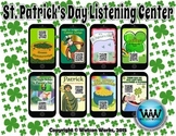 St. Patrick's Day Listening Center w/ QR Codes & Hyperlinks ~ 8 Stories Included