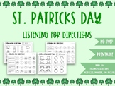 Listening For Directions: St. Patricks Day