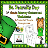 St. Patrick's  Day First Grade Literacy