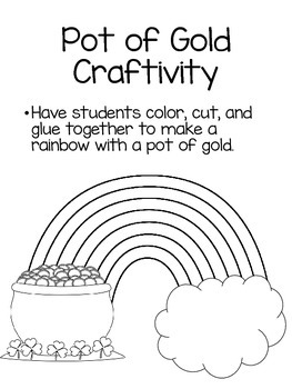 St. Patrick's Day Literacy Activities