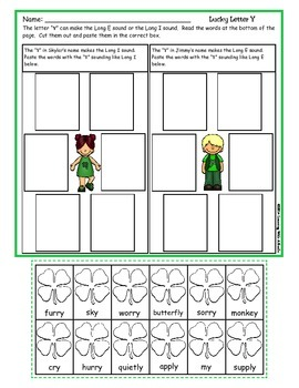 St. Patrick's Day ~ Quick and Easy Literacy Ideas for March