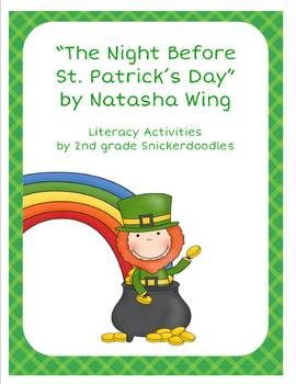 "St. Patrick's Day Literacy Activities for ""The Night Before St. Patrick's Day"""