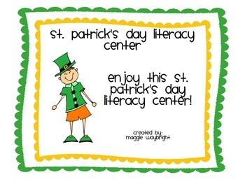 St. Patrick's Day Literacy Center