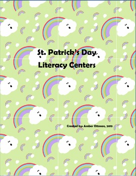 St. Patrick's Day Literacy Centers (5)