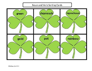 Literacy Centers-5 Minimal Prep Centers-2nd grade St. Patrick's Day Theme