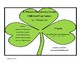 Literacy Centers-5 Minimal Prep Centers-2nd grade St. Patrick's Day Theme