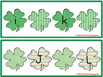 St. Patrick's Day Literacy Centers for Common Core