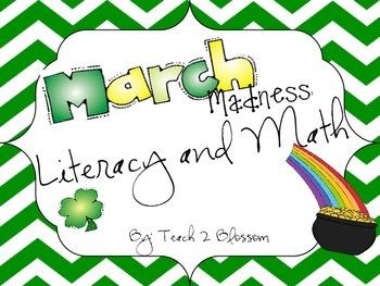 St. Patrick's Day Literacy & Math