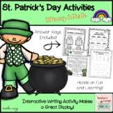 St. Patrick's Day Literacy & Math Activities