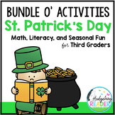St. Patrick's Day Literacy & Math Activities for 3rd Grade